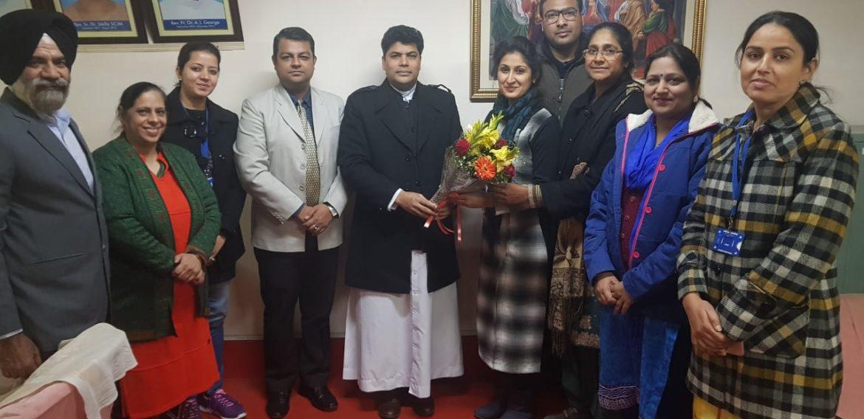 Asst. Prof Manveet Kaur, Dept. of Computer Sc. Cleared her UGC (NET) Exam.