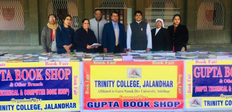 Book Fair Organised at Trinity College